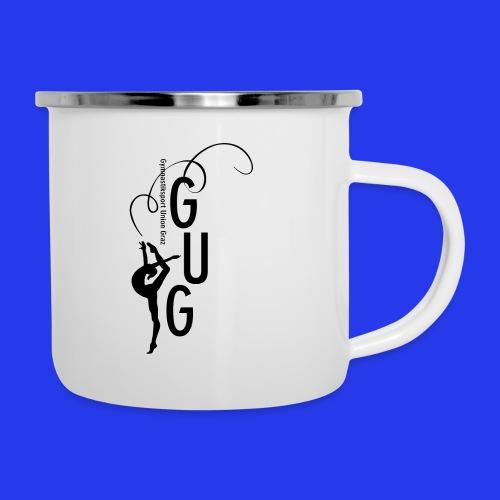 GUG logo - Emaille-Tasse