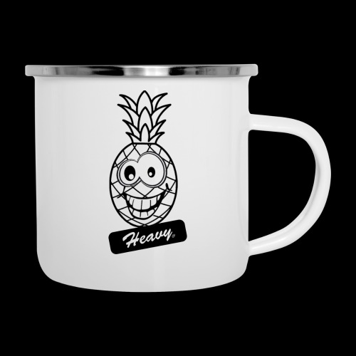 Design Ananas Heavy - Tasse émaillée