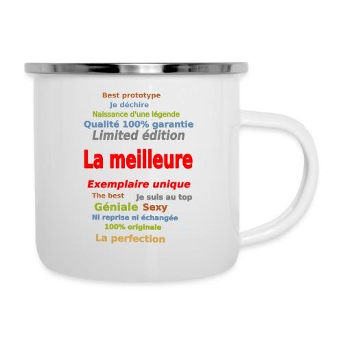 t shirt la meilleure sweat shirt coque et mugs - Tasse émaillée