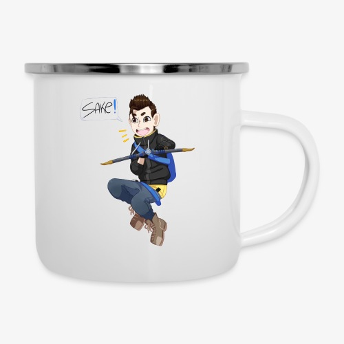 Conner/Hanzo Casual - Emaille-Tasse