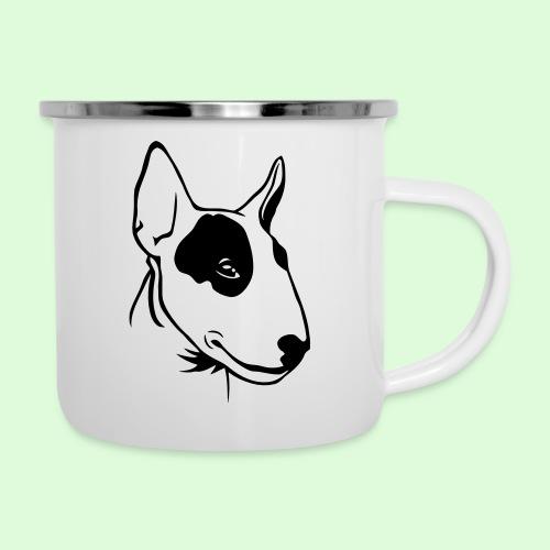 Bull Terrier - Tasse émaillée