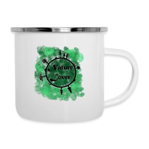 Naturliebhaber - Emaille-Tasse