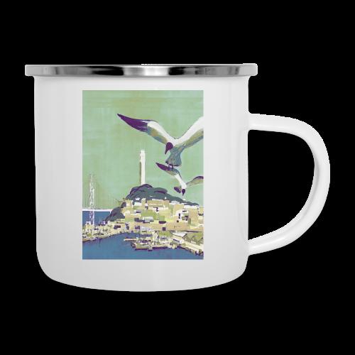 San Francisco Vintage Travel Poster - Camper Mug
