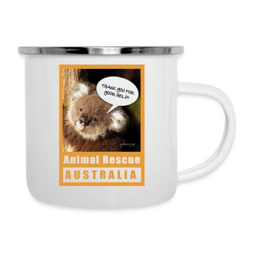 Thank You Koala - Spendenaktion Australien - Emaille-Tasse
