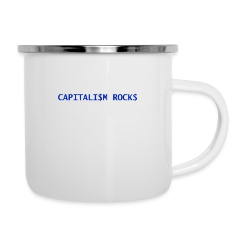 CAPITALISM ROCKS - Tazza smaltata