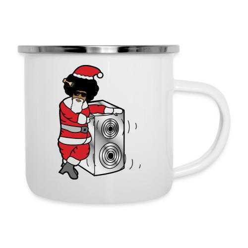 Afro Santa w/ Music Speaker - Camper Mug