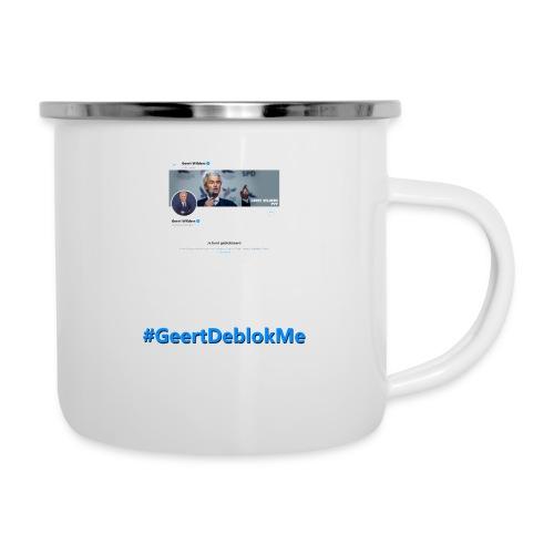 #GeertDeblokMe - Emaille mok