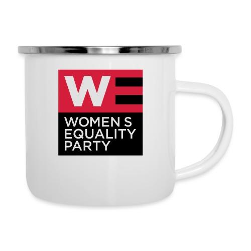 WE_LOGO_RED_CMYK - Camper Mug