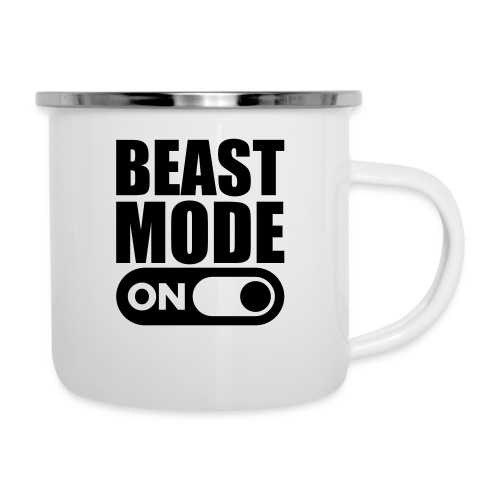 BEAST MODE ON - Camper Mug