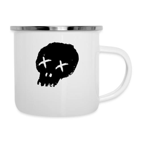 blackskulllogo png - Camper Mug