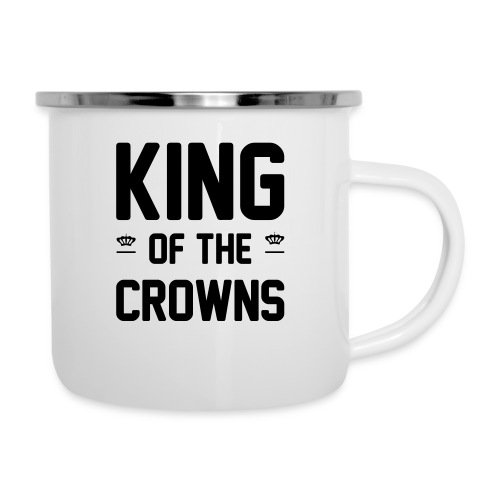 King of the crowns - Emaille mok