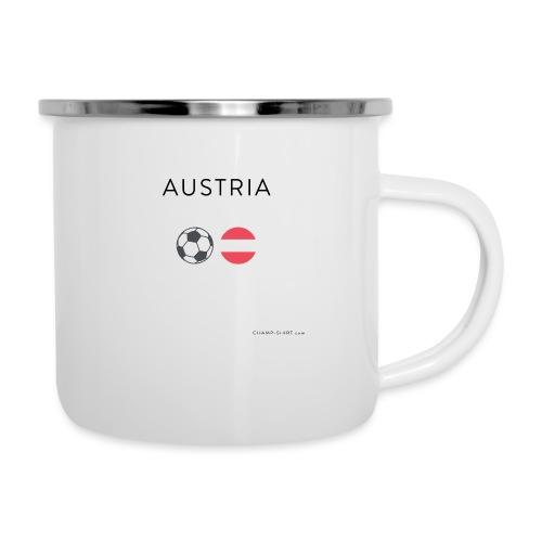 Austria Fußball - Emaille-Tasse