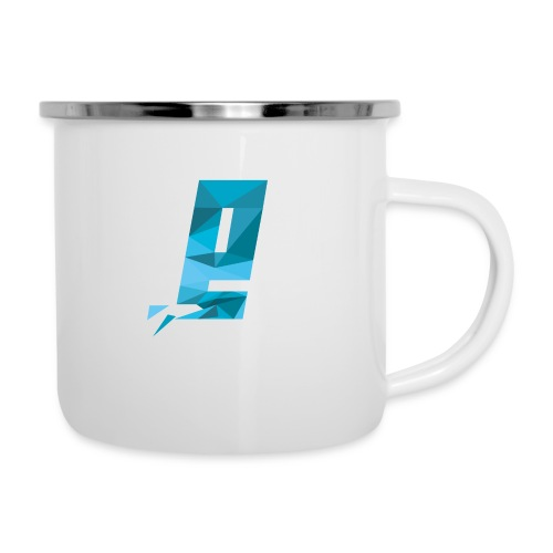 Eventuell Logo small - Shirt White - Emaille-Tasse