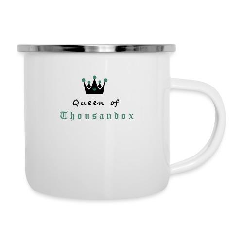 Queenofthousandox - Emaille-Tasse