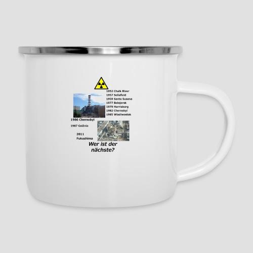 no nuclear button (German) Wer ist der Nächste? - Camper Mug