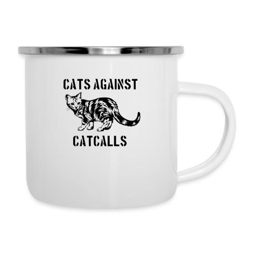 Cats against catcalls - Camper Mug