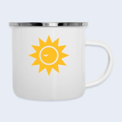 Winky Sun - Emaille mok