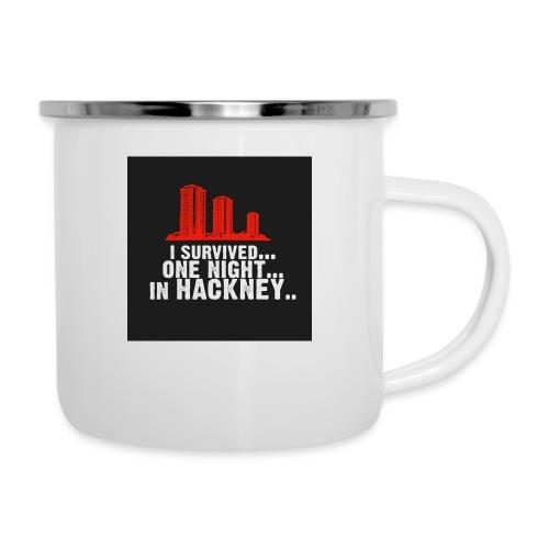 i survived one night in hackney badge - Camper Mug