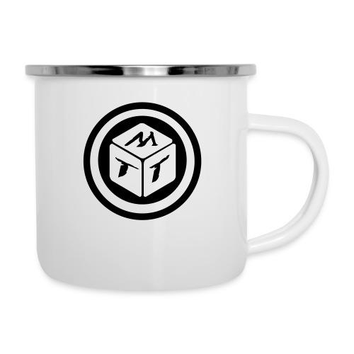 mb logo klein - Emaille-Tasse