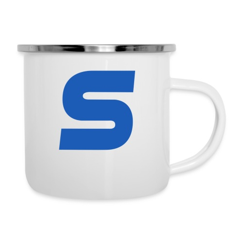 logo simple 2 0 Grand format - Tasse émaillée