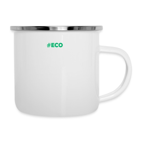 #ECO Blue-Green - Emaille-Tasse