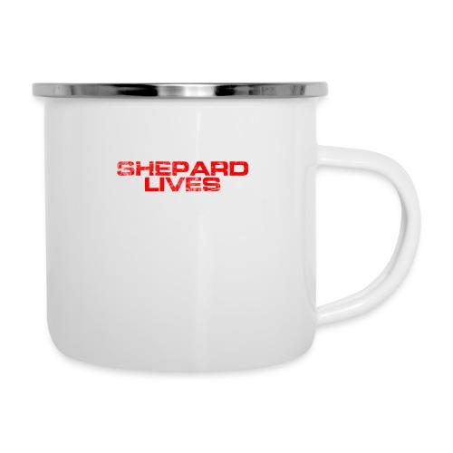 Shepard lives - Camper Mug