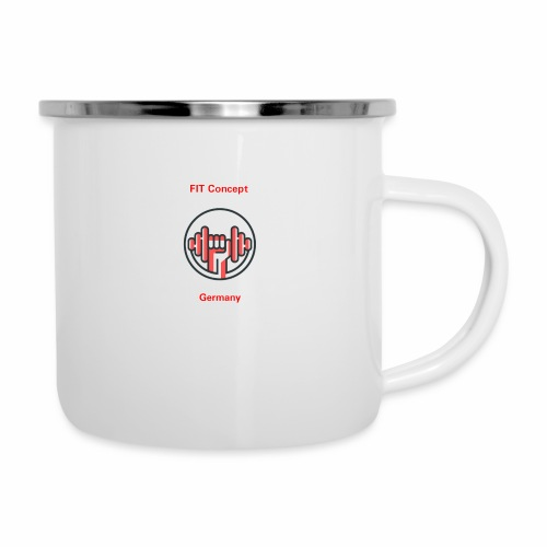 FIT Concept Germany Logo+Beschriftung - Emaille-Tasse