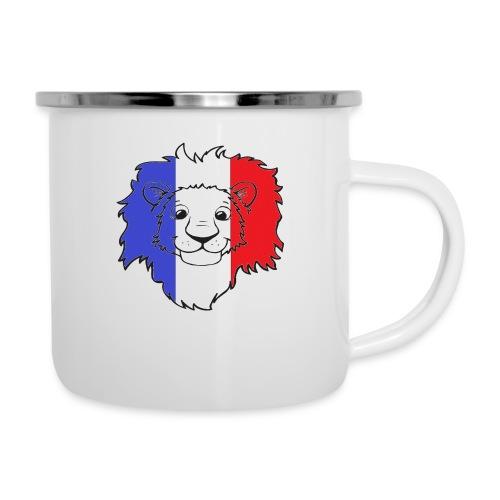 Lion France - Tasse émaillée