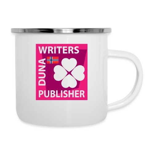 Duna Writers Publisher Pink - Emaljekopp