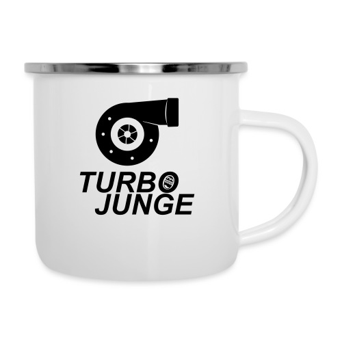 Turbojunge! - Emaille-Tasse