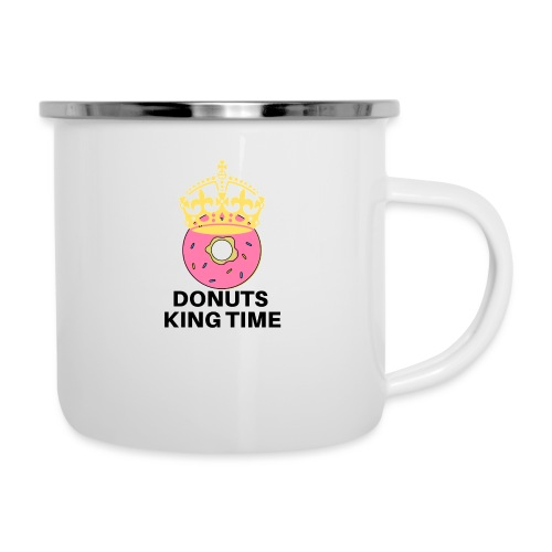 Mug Desing donuts king-Tazza Donuts King - Tazza smaltata
