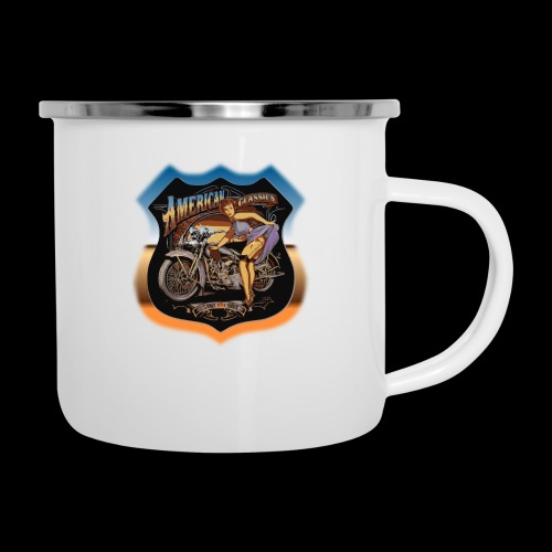 AMERICAN CLASSIC - Emaille-Tasse