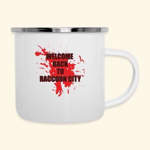 Welcome Back to Raccoon City TEXT 01 - Camper Mug