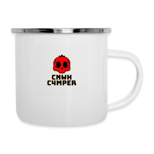 CnWh C4mper Merch - Emaljmugg