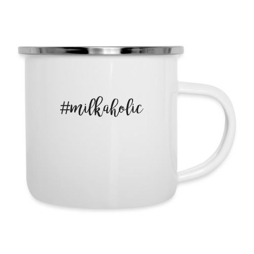 #milkaholic - Babybody - Emaille-Tasse