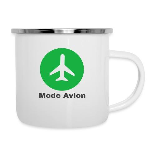 Mode Avion - Tasse émaillée