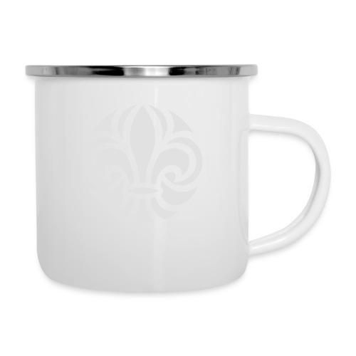 Scouterna-symbol_white - Emaljmugg