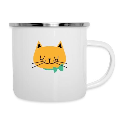 cat - Tasse émaillée