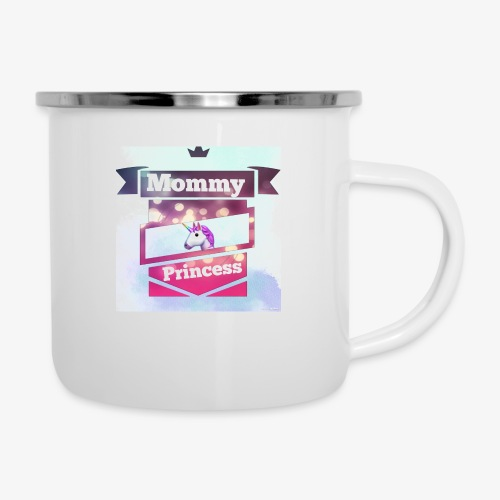 Mommy & Princess - Emaille-Tasse