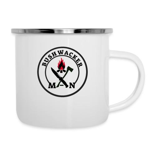 bushwackers logo clear - Camper Mug