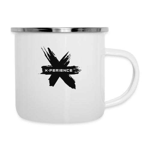 x-perience - Das neue Logo - Emaille-Tasse