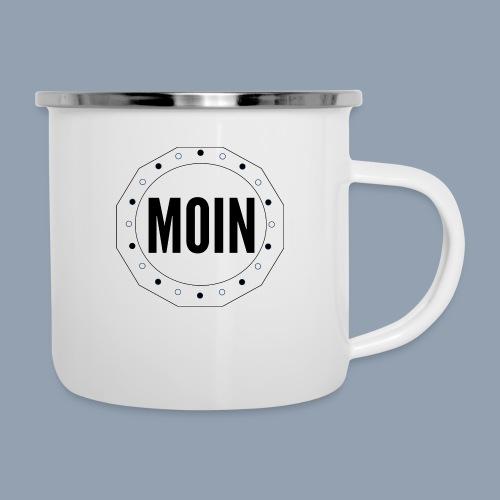Moin - typisch emsländisch! - Emaille-Tasse