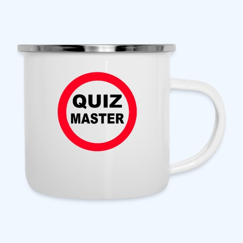 Quiz Master Stop Sign - Camper Mug