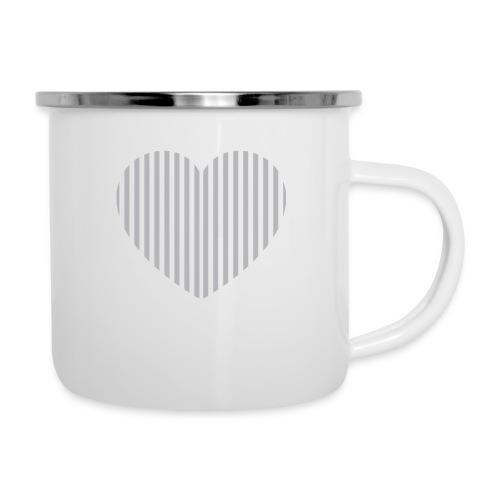 heart_striped.png - Camper Mug