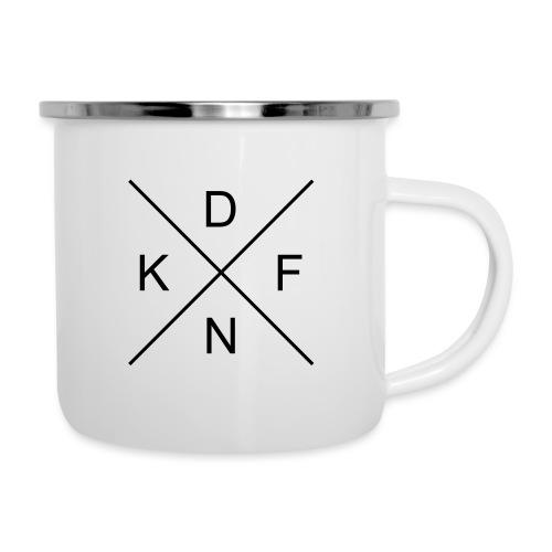 DFNK - Emaille-Tasse