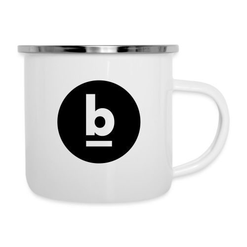underline b - Emaille-Tasse