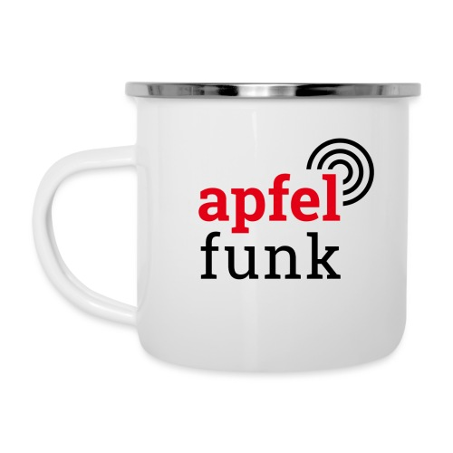 Apfelfunk Edition - Emaille-Tasse