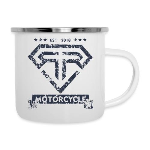 RR Motorcycle - Tazza smaltata