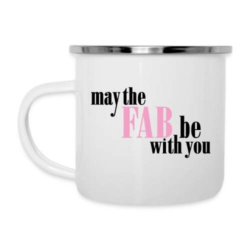 May the fab be with you - Emaljmugg