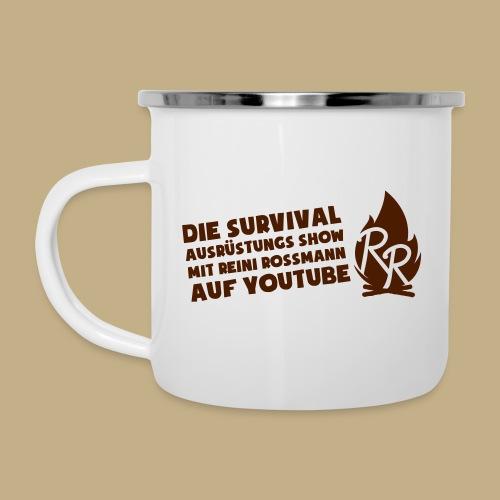 Reini Rossmann Survival Show - Emaille-Tasse